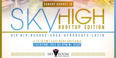Sky High Rooftop Day Party at Sky Room tickets