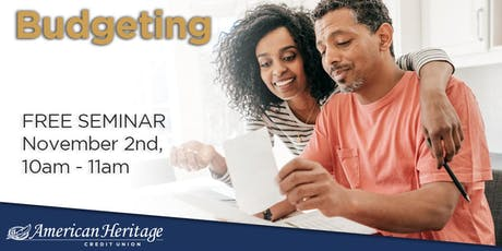 Budgeting Seminar tickets