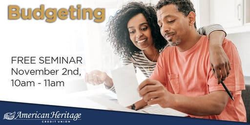Budgeting Seminar