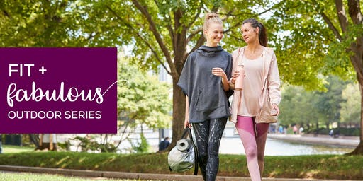 Fit + Fabulous Outdoor Series at CambridgeSide featuring HIITDance
