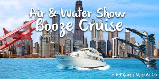 Air & Water Show Booze Cruise on August 18th