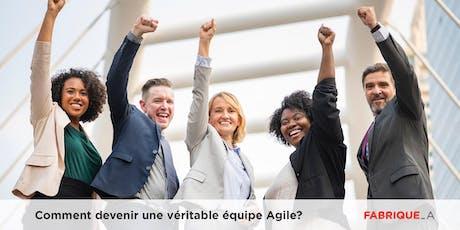 Comment devenir une véritable équipe Agile? billets