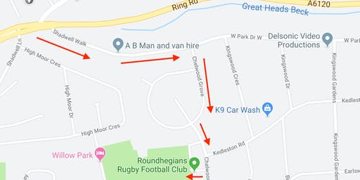Car Parking available for Ed Sheeran concert at Roundhay Park 16th and 17th August