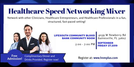 Gainesville Healthcare Speed-Networking Mixer tickets
