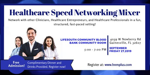 Gainesville Healthcare Speed-Networking Mixer