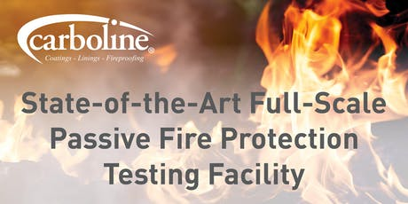 Carboline Fireproofing Tour & Open House Event tickets