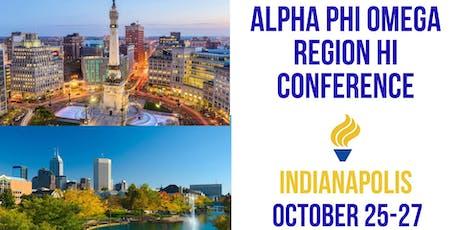 Region HI Conference tickets