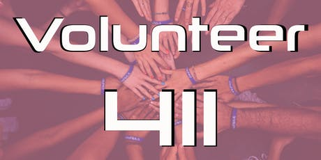 Volunteer 411 tickets