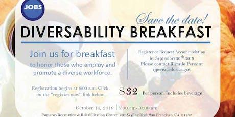 2019 JobsGroup DiversAbility Breakfast tickets