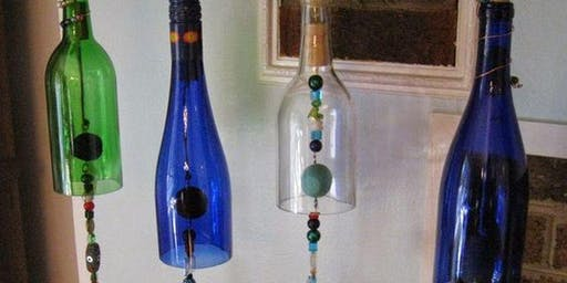 Craft & Sip - Recycled Wine Bottle Wind Chimes