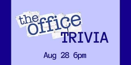 Trivia Night: The Office tickets