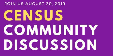 Census Community Discussion - City of Miami tickets