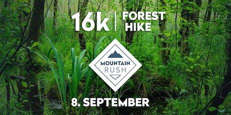 Mountain Rush 16k Hike and Lake Dip Tickets