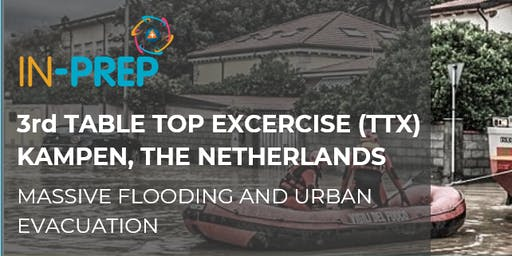 IN-PREP 3rd Table Top Excercise (TTX) - Kampen, the Netherlands
