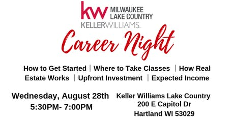Keller Williams Lake Country Career Night tickets