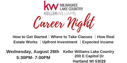 Keller Williams Lake Country Career Night