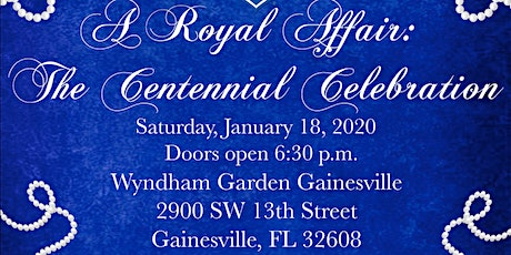 A Royal Affair: The Centennial Celebration tickets