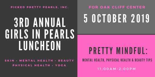 Girls in Pearls Luncheon 2019: Pretty Mindful
