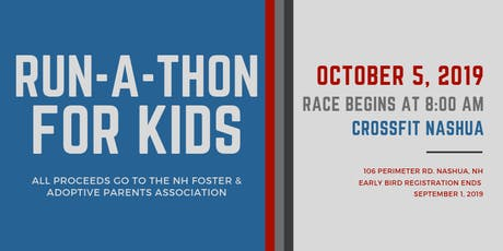 Run-A-Thon For Kids! tickets