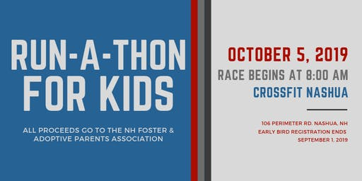 Run-A-Thon For Kids!