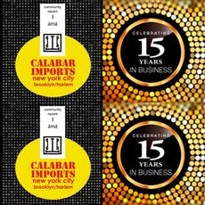 CALABAR IMPORTS 15TH ANNIVERSARY PARTY tickets