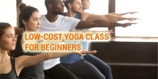 Low-cost Yoga Classes for Beginners