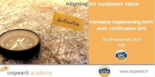 Formation Implementing SAFe avec certification SPC
