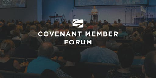 Covenant Member Forum - August 18th