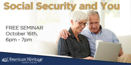 Social Security and You tickets