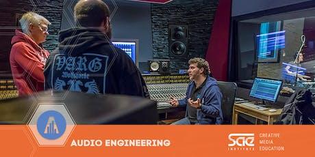 """Workshop: """"Musikproduktion - Von der Aufnahme bis zum finalen Mix""""  Tickets"""