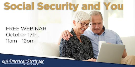 Social Security and You Webinar