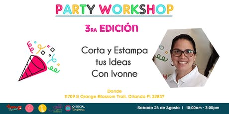 Corta y Estampa tus ideas con IvonsHands tickets