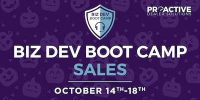October - Biz Dev Boot Camp Sales