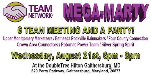 Networking Events Maryland Team Network Mega-Marty Hilton Gaithersburg