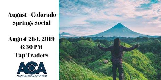 August Colorado Springs Social with ACA