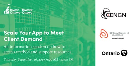 Scale Your App to Meet Client Demand - NGNP Information Session tickets