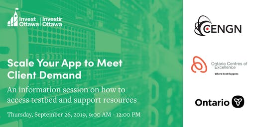 Scale Your App to Meet Client Demand - NGNP Information Session
