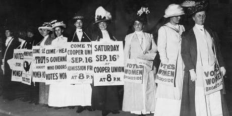 Women's Right to Vote Program and Party tickets