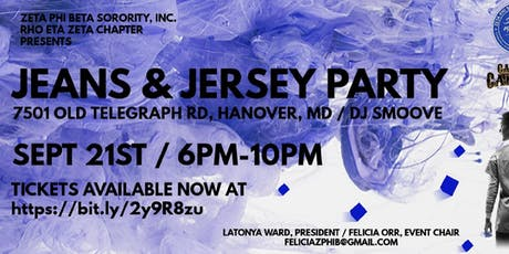 Jeans & Jersey Party tickets