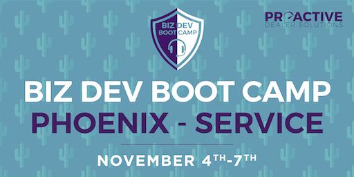 Phoenix - November - Biz Dev Boot Camp Service