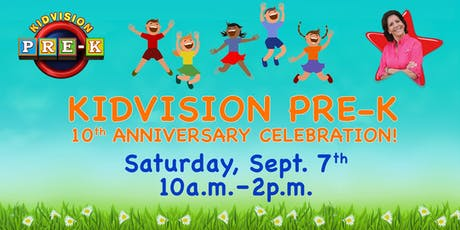 KidVision Pre-k 10th Anniversary Celebration  tickets