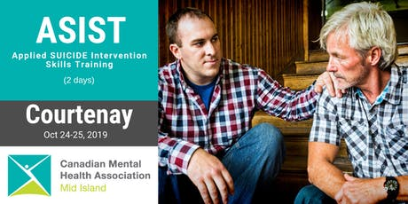 ASIST 2-day Suicide Prevention Training - Courtenay - October 24/25 tickets