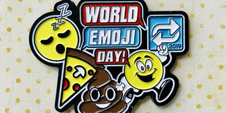 Only $15 World Emoji Day 1 Mile, 5K, 10K, 13.1, 26.2- Houston tickets