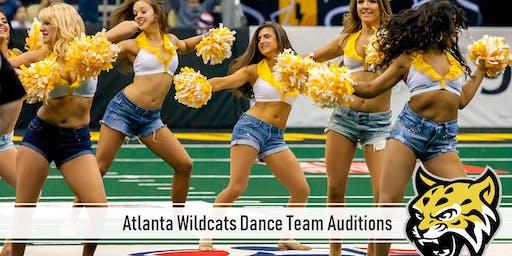 Atlanta Wildcats Dance Team Auditions