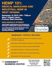 Hemp 101: Industrial Hemp and Medical Marijuana in West Virginia tickets