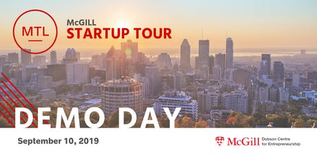 McGill Demo Day Montreal 2019 billets