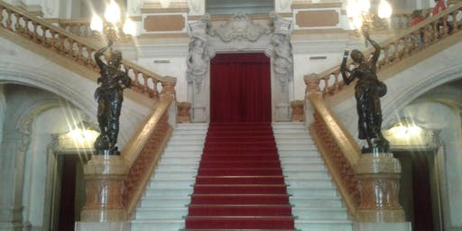 Visita guiada Teatro Municipal  e walking tour Centro Novo