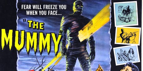 OI Screening: The Mummy, 1959 tickets