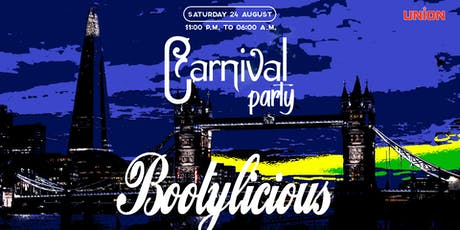 Bootylicious Carnival bankholiday  tickets