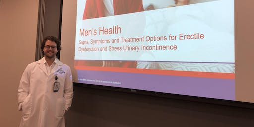 Signs, Symptoms & Treatment Options for Male Stress Urinary Incontinence and Erectile Dysfunction